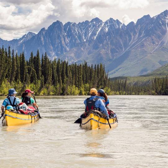 Paddling down an epic Sahtu river for a once-in-a-lifetime adventure in Canada's Northwest Territories.