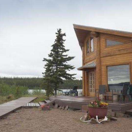 trophy lodge remote fly in nwt