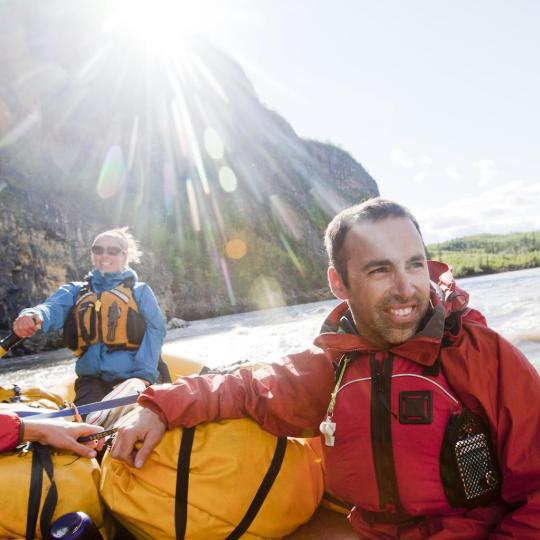 rafting on the Nahanni