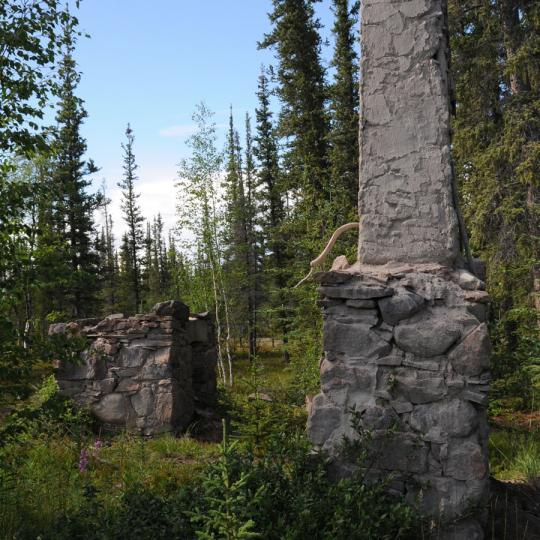 Thaidene Nëné near the East Arm of Great Slave Lake in Canada's Northwest Territories is slated to become a new national park.