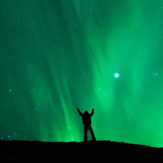 The aurora is hot in summer | Spectacular Northwest Territories