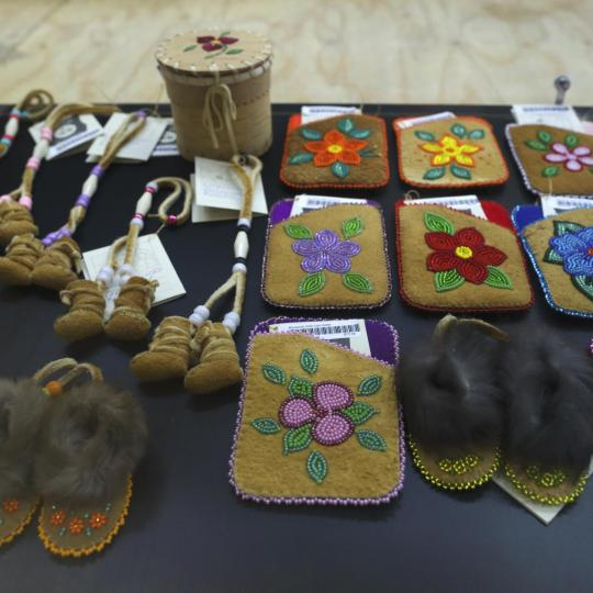 selection of crafts at rusty raven