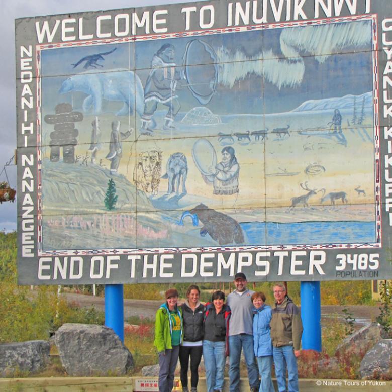 Nature Tours of Yukon - Arctic Road Trip - Inuvik