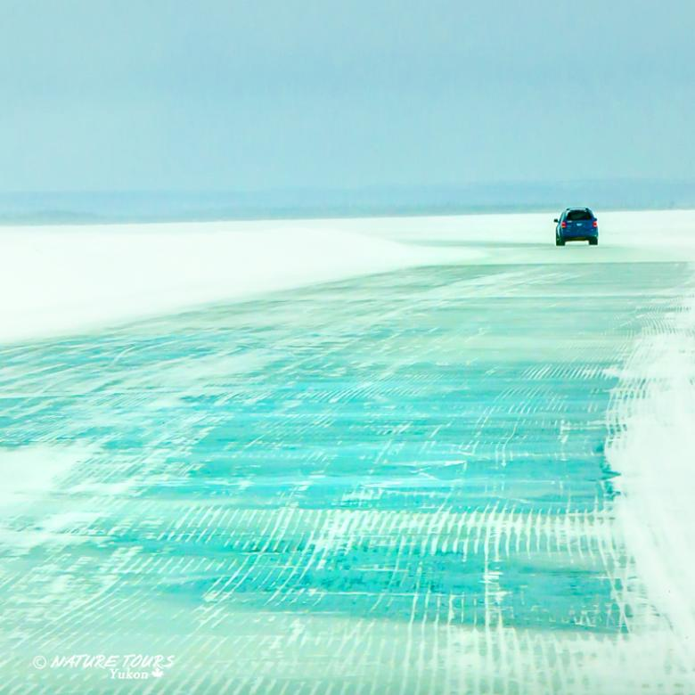 Nature Tours of Yukon - Arctic Discovery Tour - Ice Road
