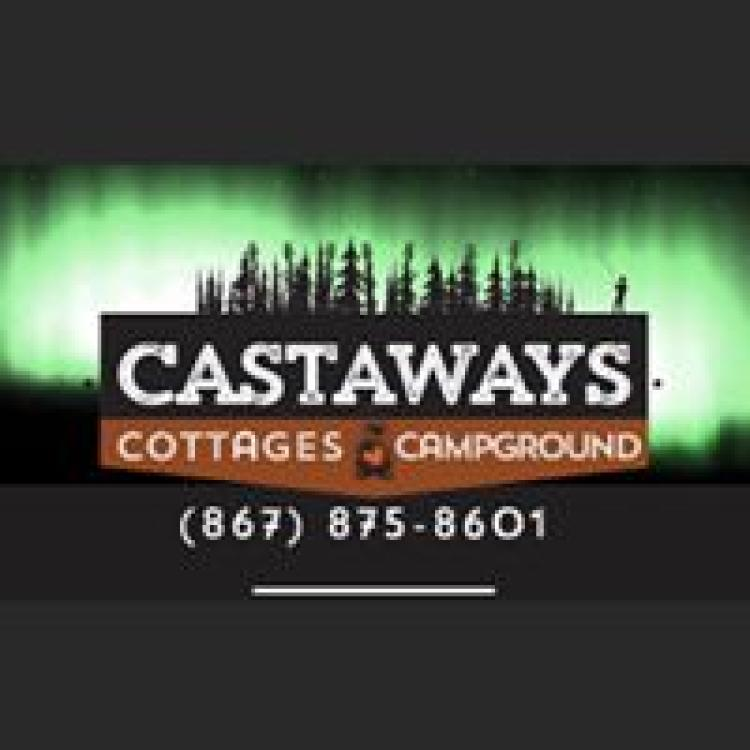 Castaways Cottages and Campgrounds logo in Hay River NWT