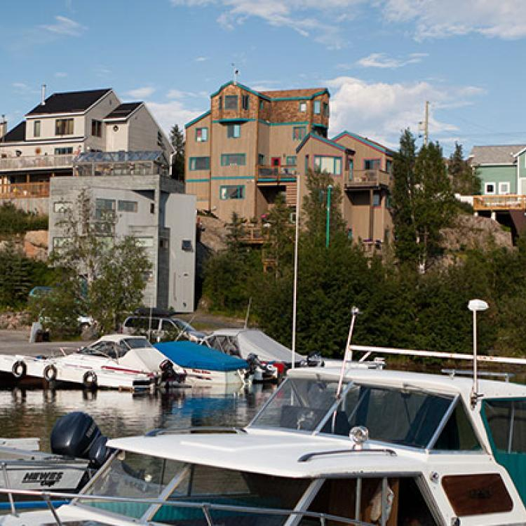 Old Town Yellowknife