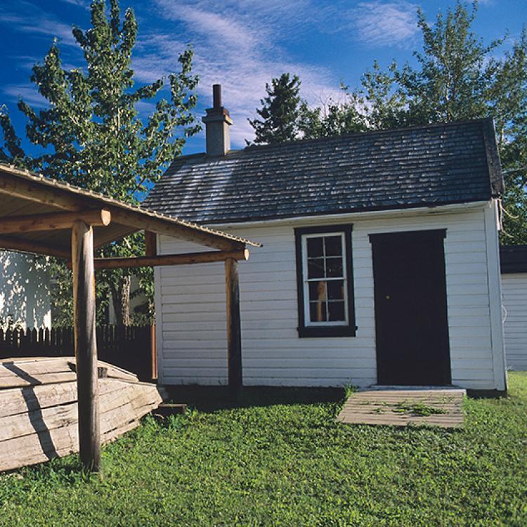 Albert Faille Cabin in Fort Simpson Northwest Territories