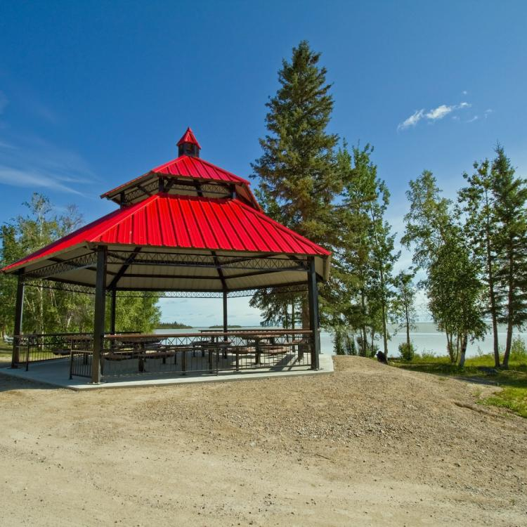 North Arm Territorial Park day use area in the Northwest Territories