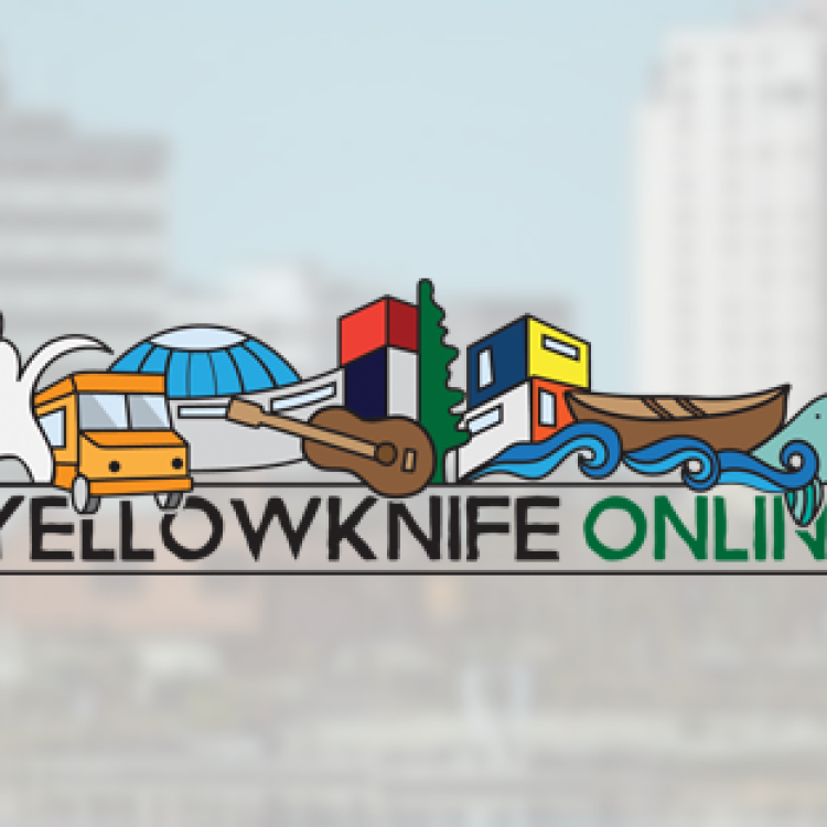 Yellowknife Online logo - Aurora Tours in the Northwest Territories.