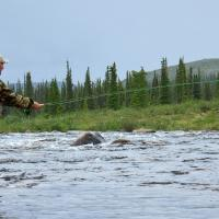 Peterson's Point Lake Lodge - Fishing. Photo Credit: Ernie Unger