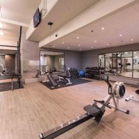 Ptarmigan Inn gym and fitness centre in Hay River, NWT.