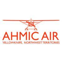 Ahmic Air orange logo brand Northwest Territories.