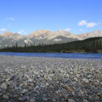 Northern Nature Photography's picture of the Nahanni Mountains in the national park in the NWT.
