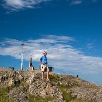 Pilot Monument Yellowknife NWT photo credit D. Brosha