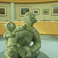 Art at the Legislative Assembly in Yellowknife NWT