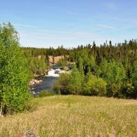 View of cameron river crossing park in the Northwest Territories