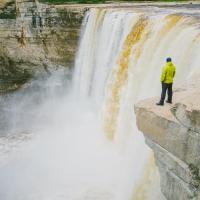 Alexandra Falls in the Northwest territories