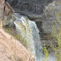 Little Buffalo falls in the Northwest Territories