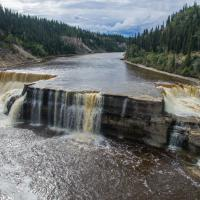 Louise falls in the Northwest territories