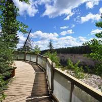 Walking trail at Alexandra Falls in the Northwest territories