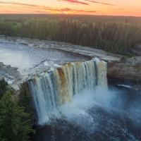 Lady Evelyn Falls in the Northwest Territories