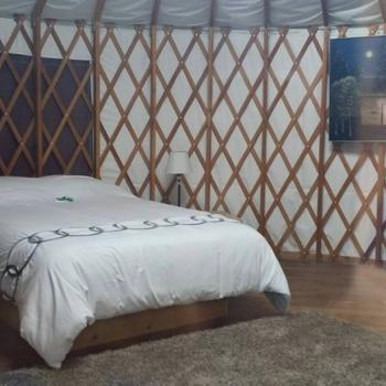 One of 6 Yurts Available