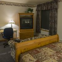A suite in Grey Goose Lodge in Deline in the Northwest Territories.