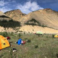 Spectacular scenery and camping!