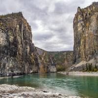 The Gate on the Nahanni River in the NWT