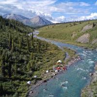 Broken Skull River in the Northwest Territories - Black Feather