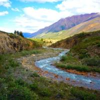 Valley in the Sahtu region photo taken by Canol Outfitters in the NWT.
