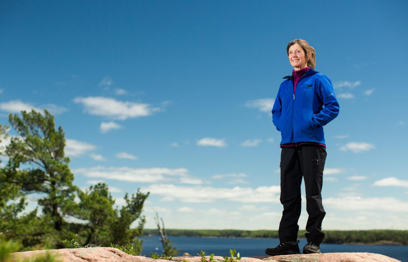 Wendy Grater runs Black Feather, a staple of the NWT's tourism industry