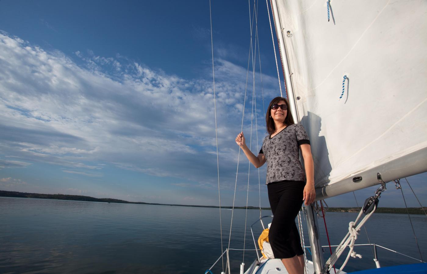 Sail away on the Northwest Territories ocean-sized lakes