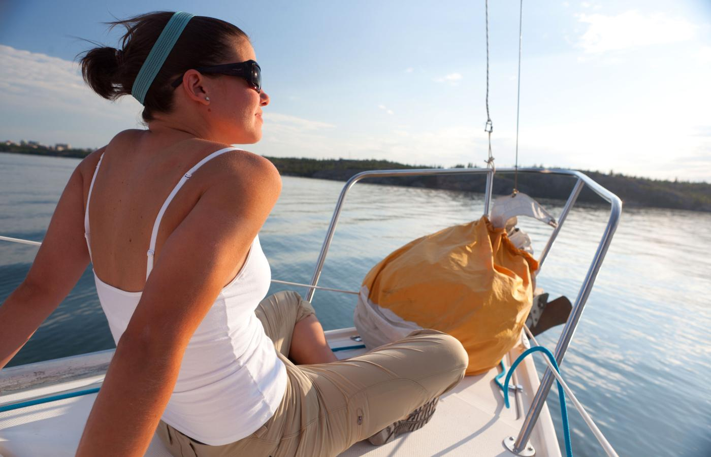 Northerners love to sail on Great Slave Lake