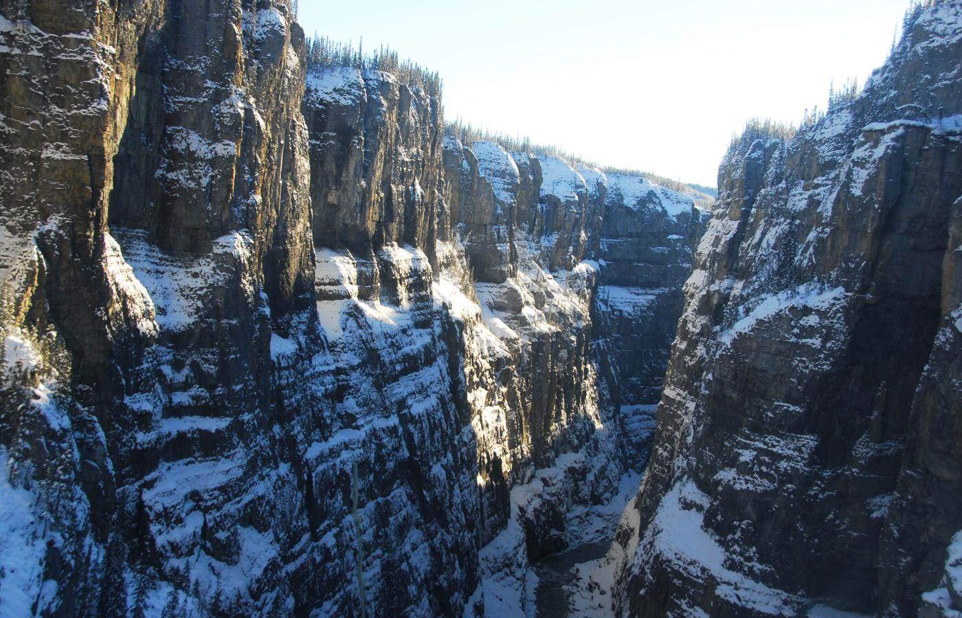 Scimitar Canyon in the Nahanni National Park Reserve