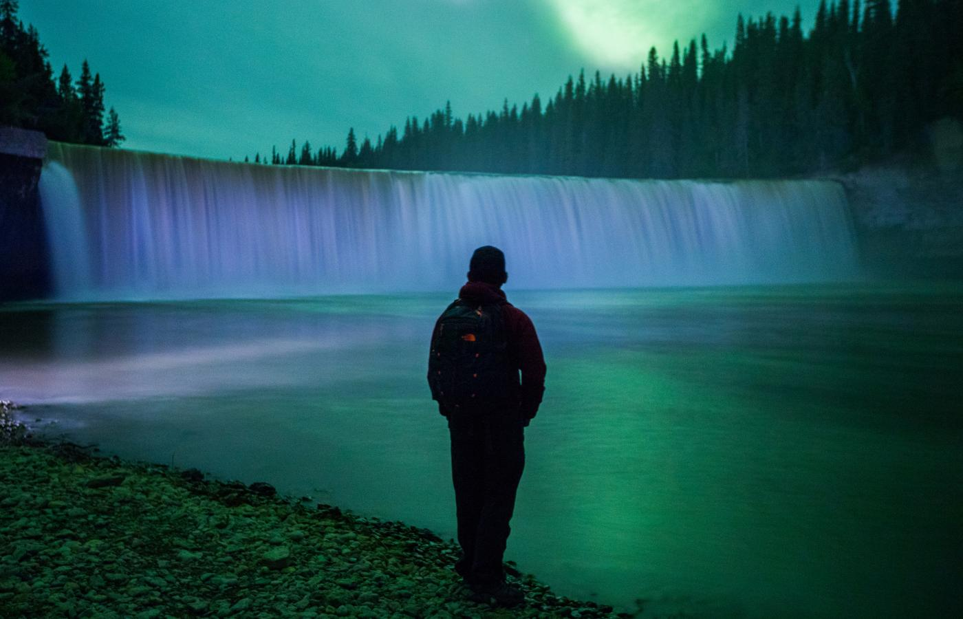 Lady Evelyn Falls under the Aurora