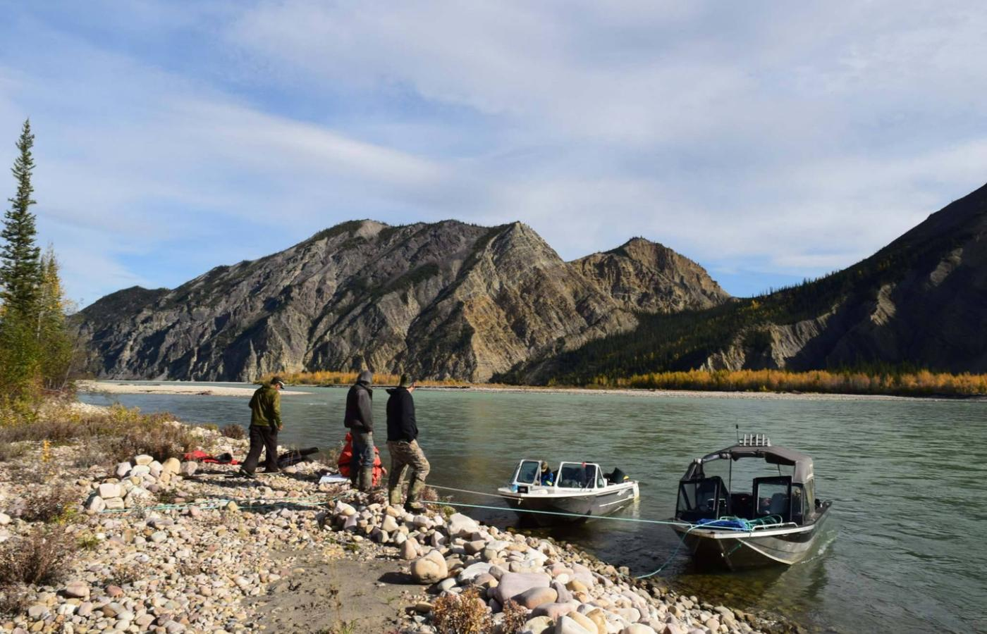 Fishing in the Sahtu region of the NWT.
