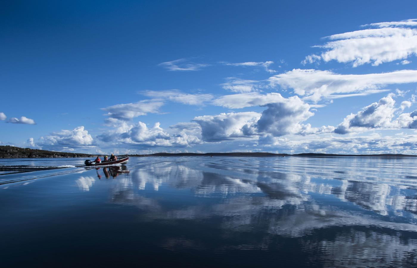 The pristine waters of Point Lake are a lake fishing heaven in the Northwest Territories