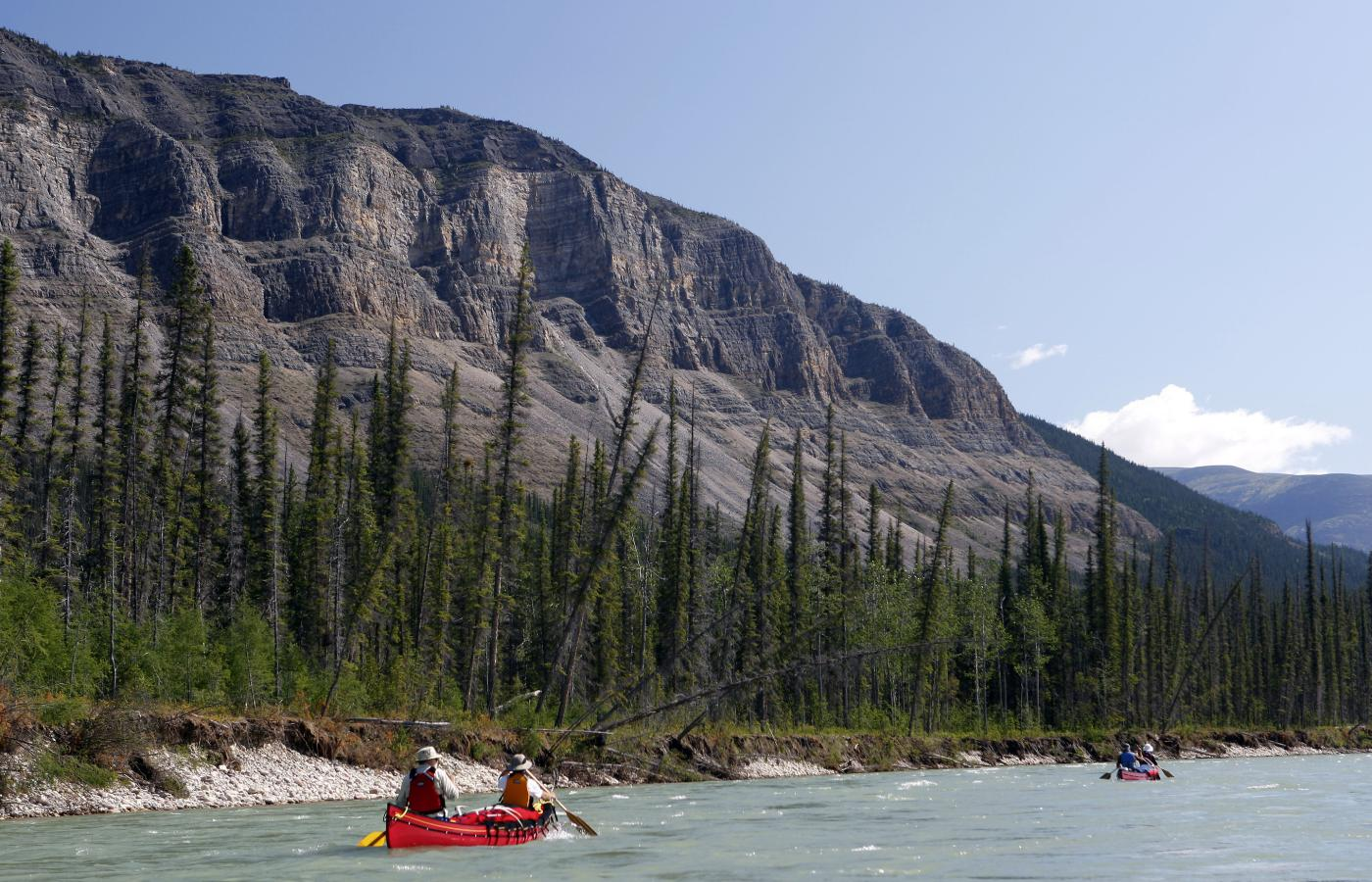 whitewater canoe tripping in the nwt sahtu region