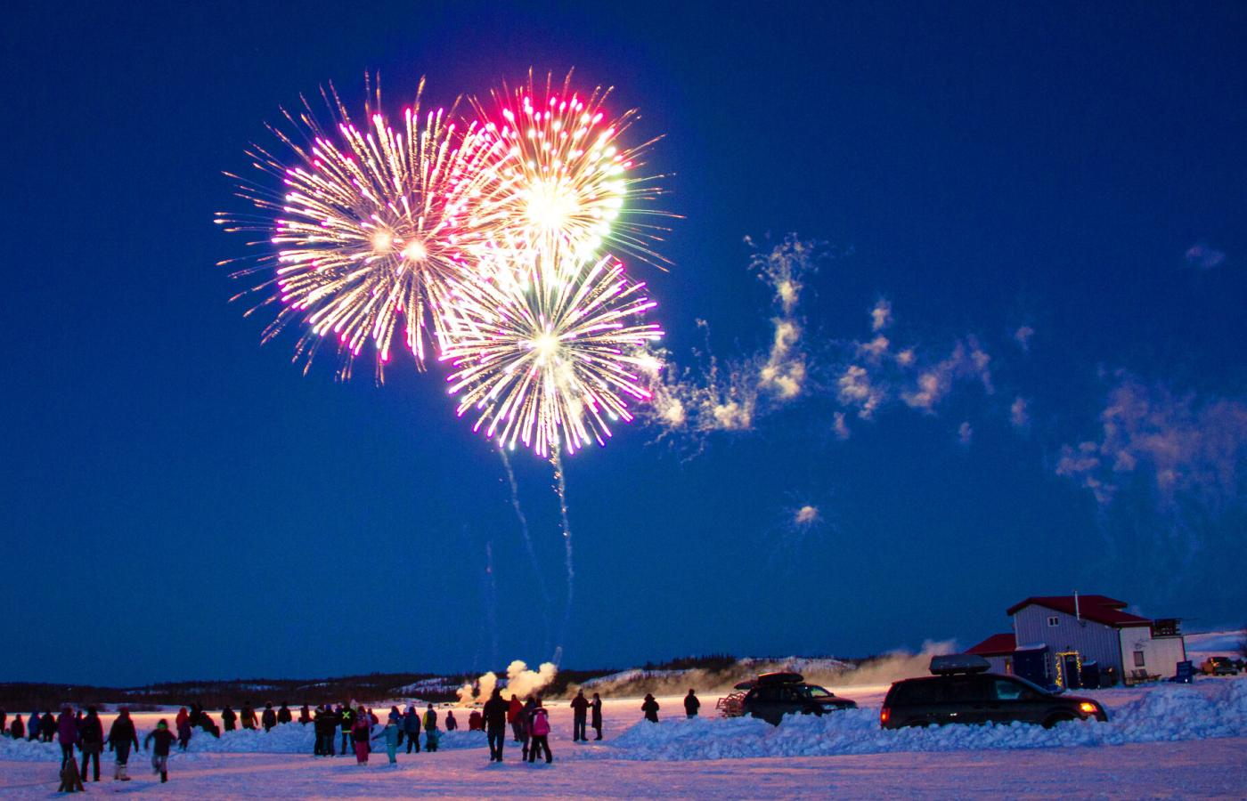Great Slave Lake hosts festivals of all kinds, in all seasons.
