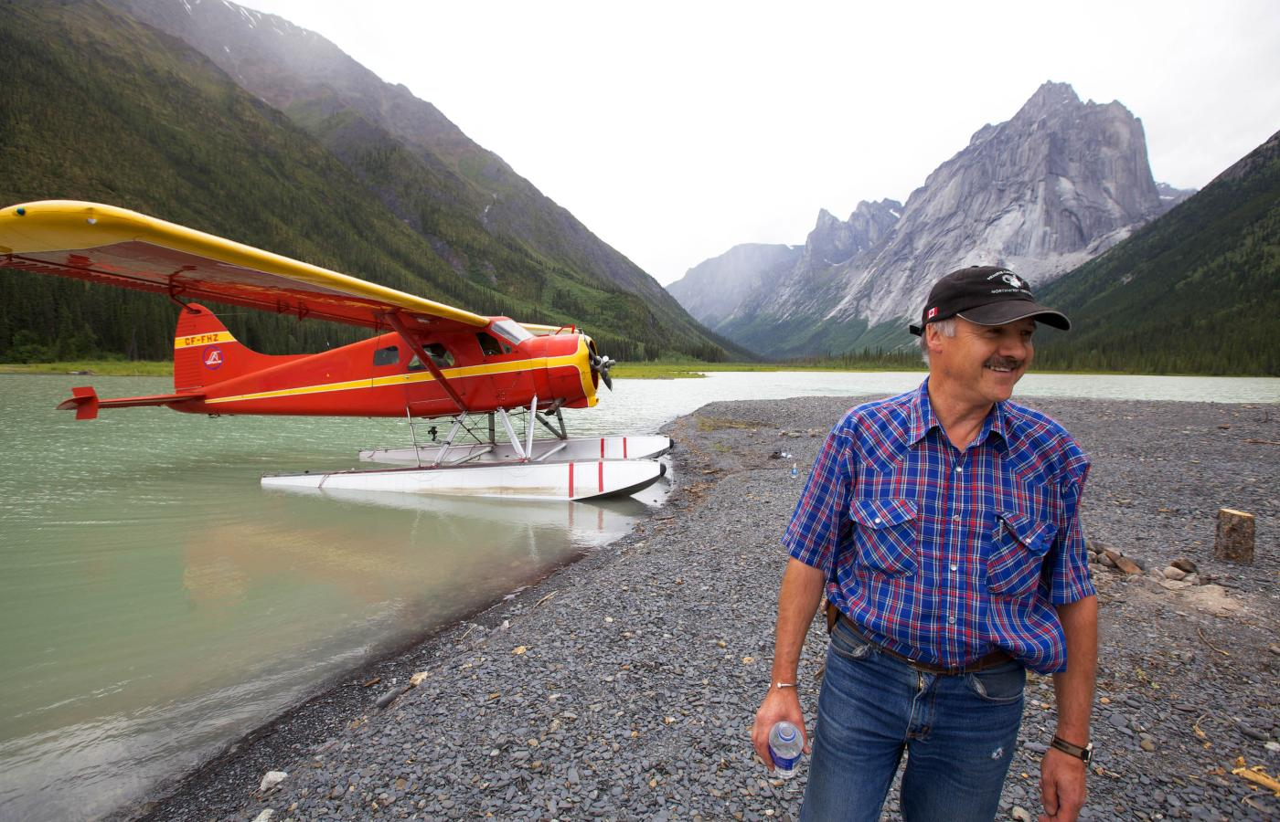 Ted Grant is a legendary bush pilot in Fort Simpson, in Canada's Northwest Territories