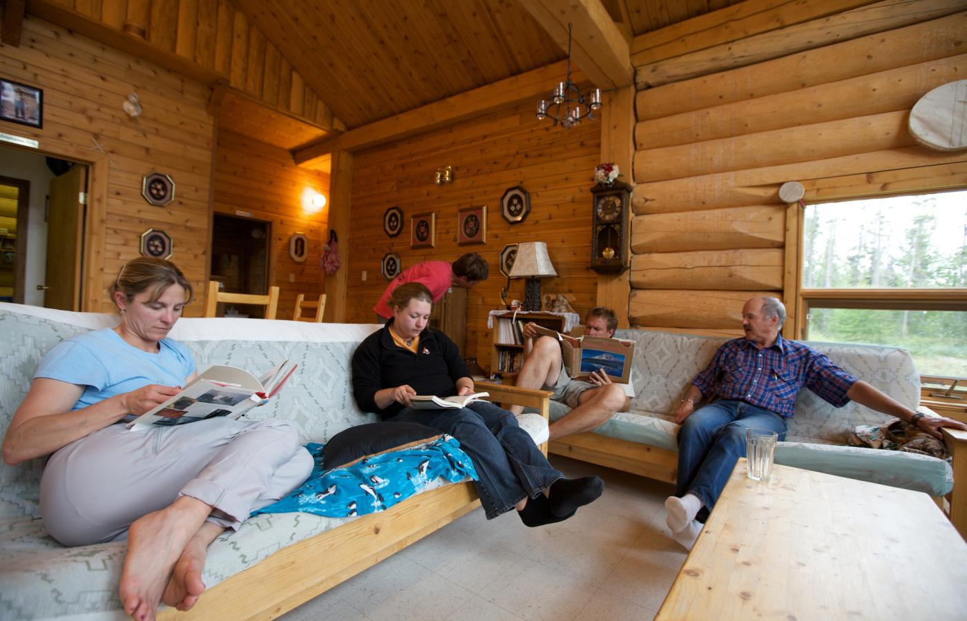 Rent a cozy cabin in the Northwest Territories