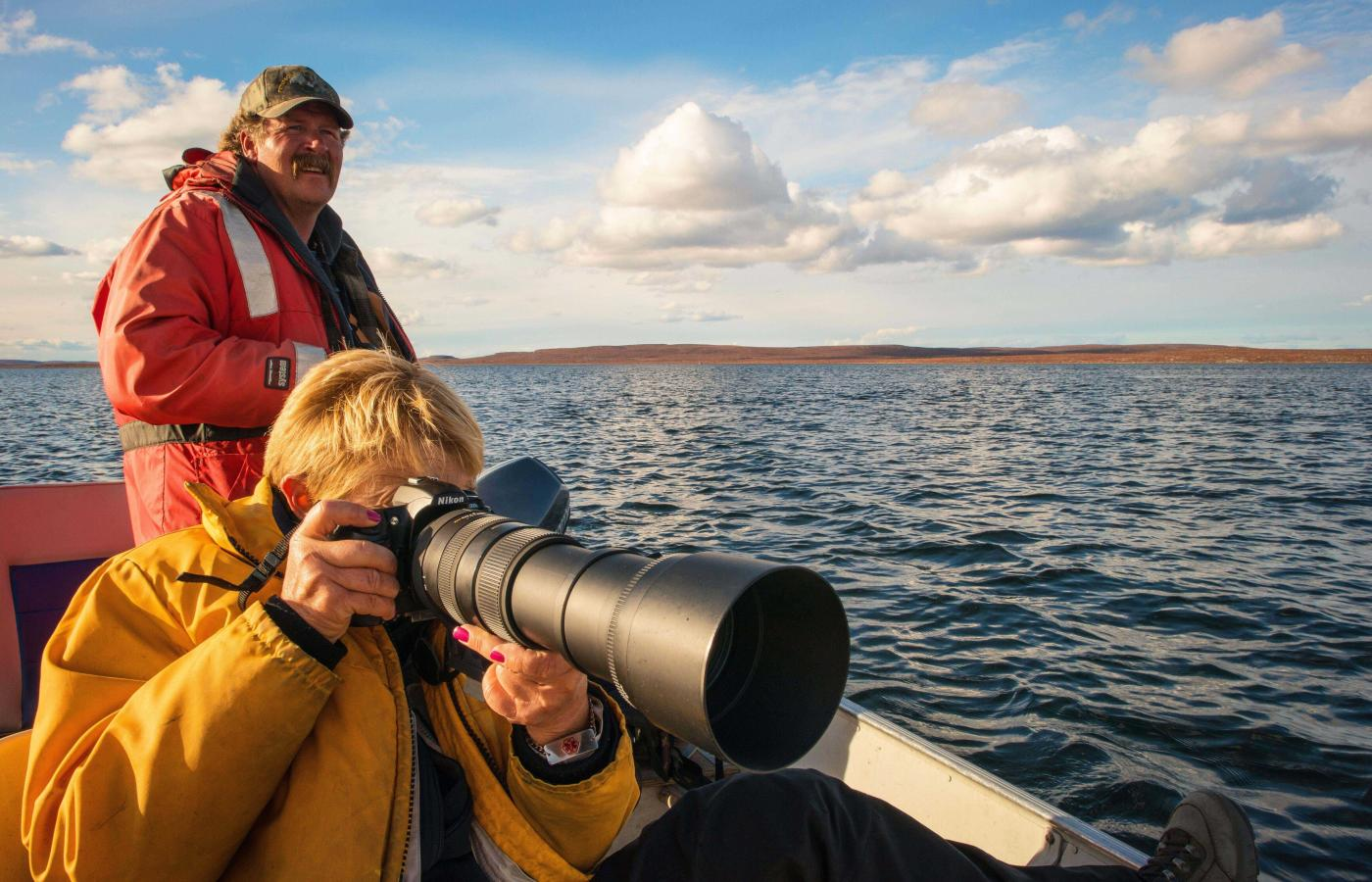 Peterson's Point Lake Lodge in the Northwest Territories is a photographer's dream