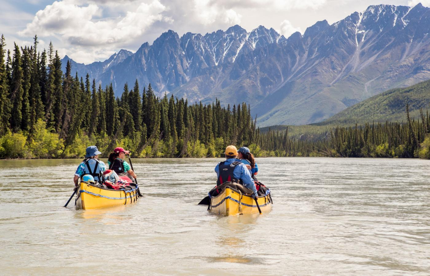 The Upper Nahanni River is a scenic tour through Nahanni National Park Reserve in Canada's Northwest Territories
