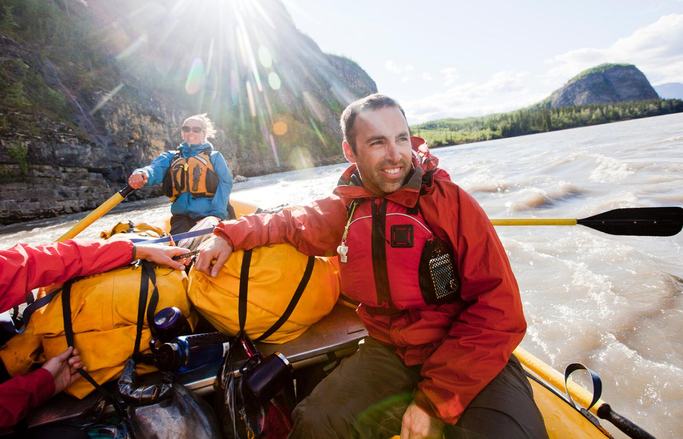 Paddling the Nahanni River