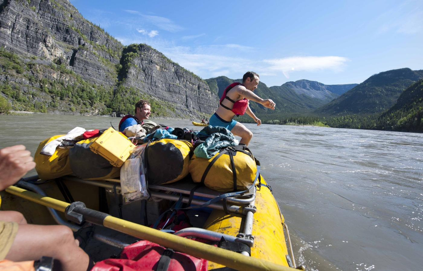 Rafting the NWT's rivers