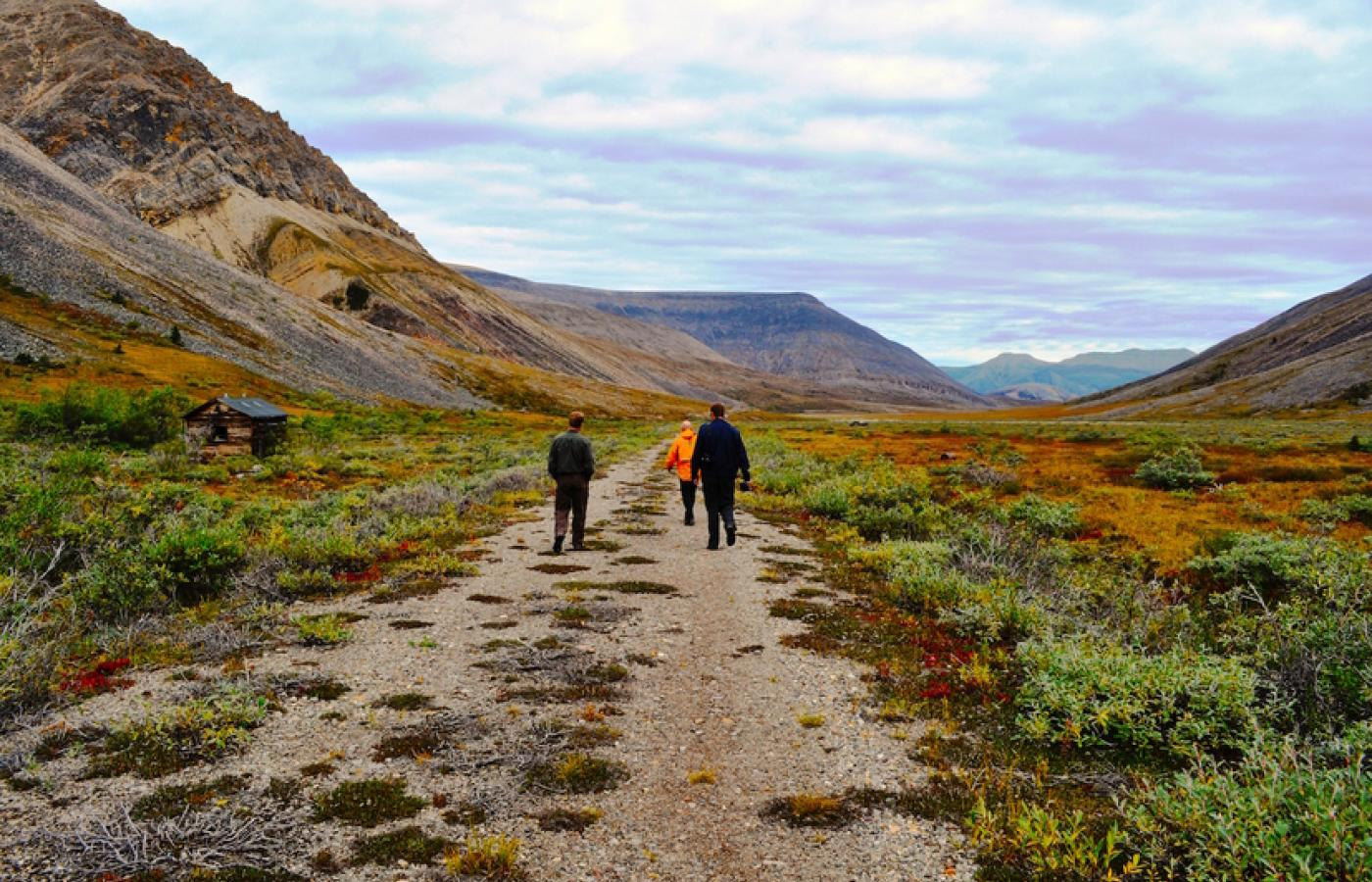 Take a trail into some truly rugged and untamed wilderness on the Canol Trail, in Canada's Northwest Territories