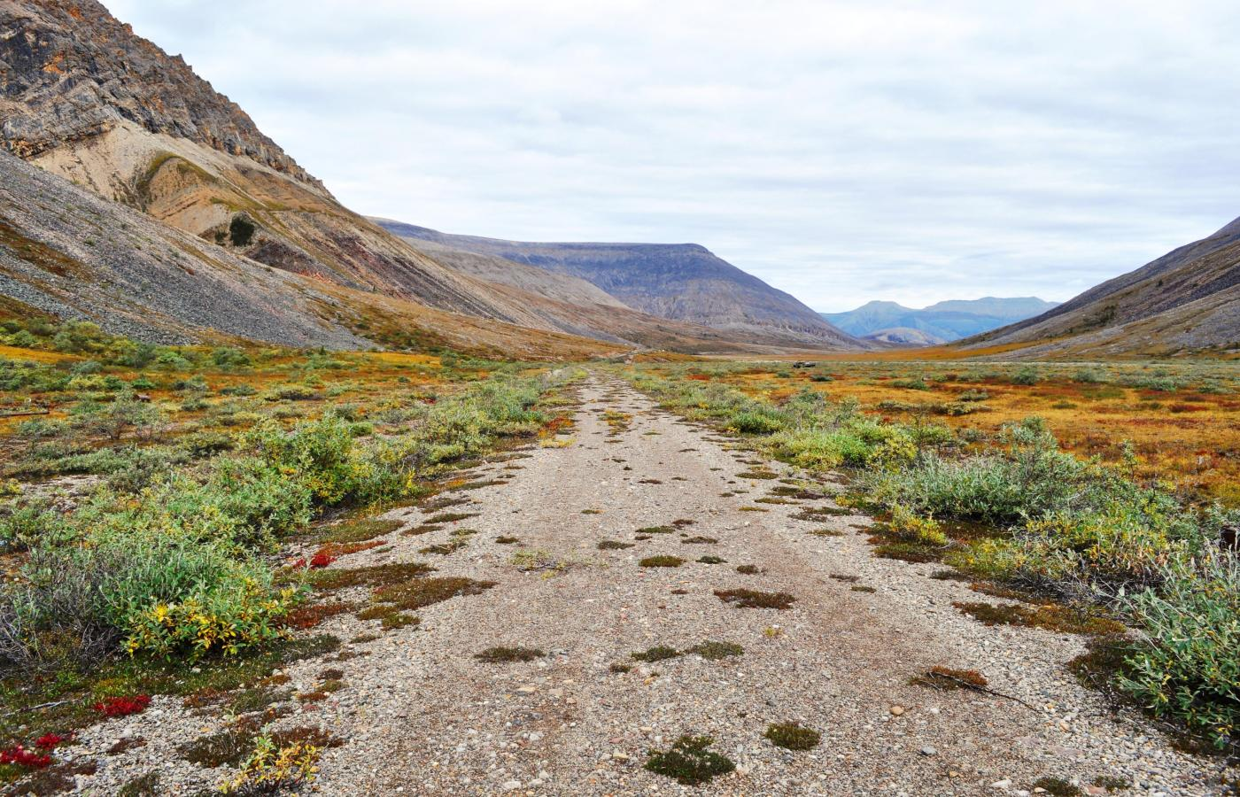 The CANOL Trail in the NWT's Sahtu region.