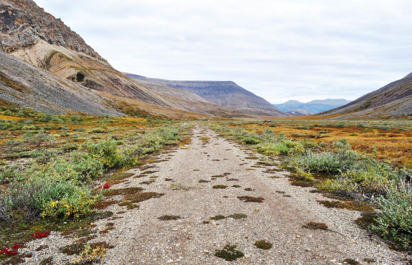 The Canol Heritage Trail in Canada's Northwest Territories is a mountain bike back through time and through some of the most dramatic landscapes in the country
