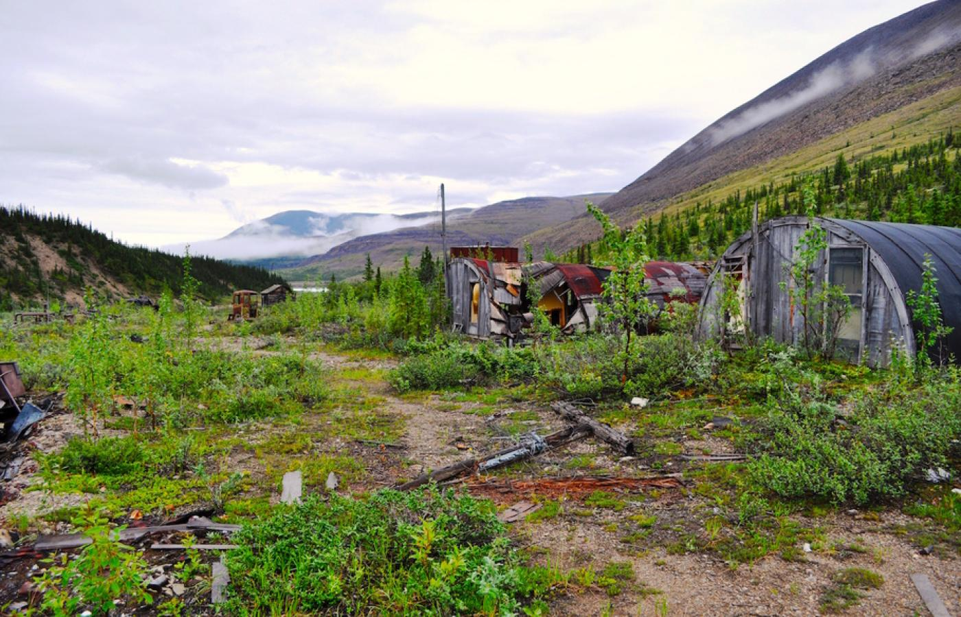 A string of historic WWII relics awaits on the Canol Trail in Canada's Northwest Territories.